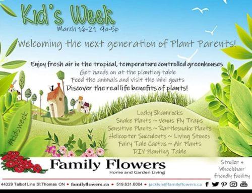 Kids Week – March 16-21 2020